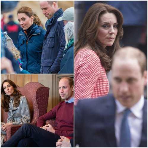 Collage di Kate e William