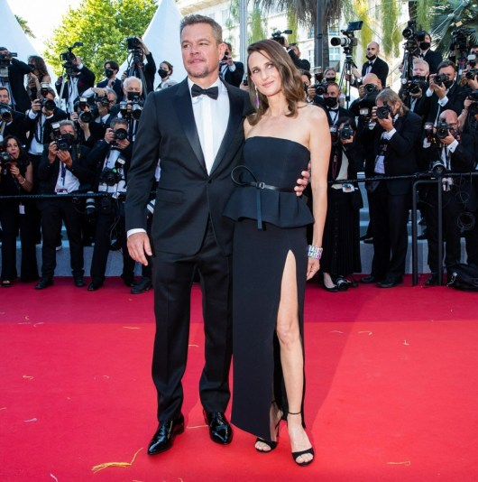 """Matt Damon e Camille Cottin partecipano alla proiezione di """"Stillwater"""" a Cannes"""