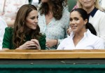 I Royals britannici sono visti al giorno 12 dei campionati di Wimbledon