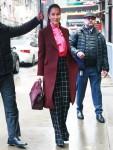 Jessica Mulroney arriva a Good Morning America