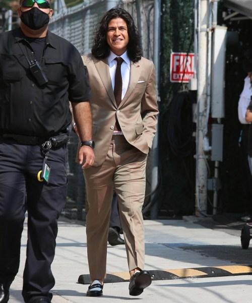 Actor Cristo Fernandez arrives at Jimmy Kimmel Live!