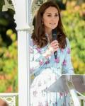 """La duchessa di Cambridge partecipa al festival """"Ritorno alla natura"""" al RHS Garden Wisley, Londra, UK"""