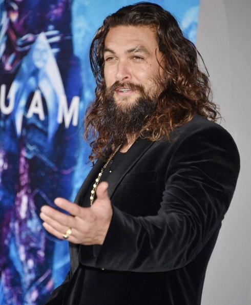 """Jason Momoa alla premiere di """"Aquaman"""" della Warner Bros. Pictures al TCL Chinese Theatre di Hollywood"""