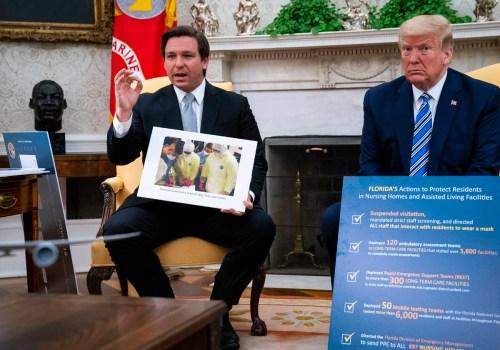 Trump incontra il governatore DeSantis della Florida