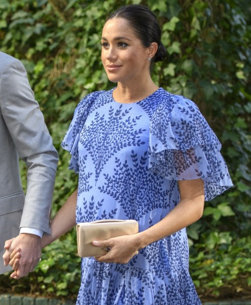 The Duke and Duchess of Sussex in Rabat