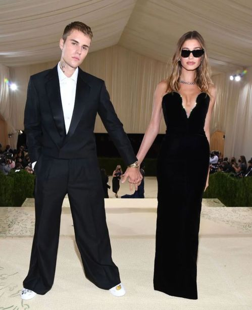 Justin & Hailey Bieber at the Met Gala