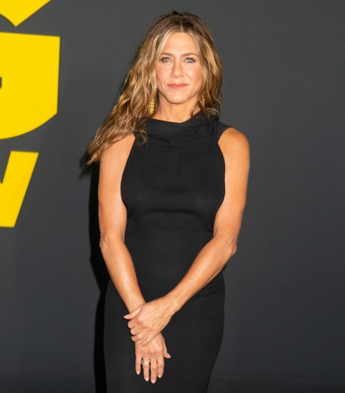 Jennifer Aniston at the Apple TV's The Morning Show World Premiere at David Geffen Hall on October 28, 2019 in New York city.