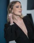 Olivia Wilde partecipa al Vanity Fair Oscar Party al Wallis Annenberg Center for the Performing Arts...