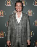 Matthew McConaughey in presenza per A+...