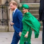 Il principe Harry e Meghan Markle partecipano all'annuale Commonwealth Day Service