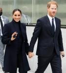 Meghan Markle e il principe Harry in visita al One World Trade Center