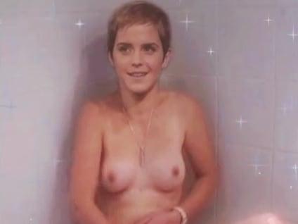Emma watson taking a shower naked