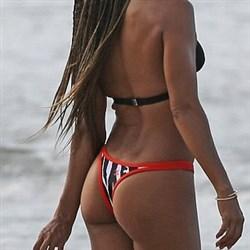 Jada Pinkett Smith Thong Bikini Beach Pics