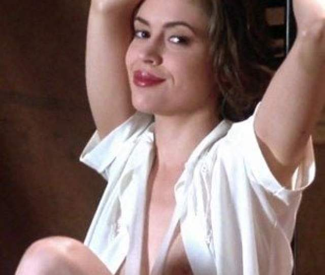 Alyssa Milano Nude Sex Scenes From Poison Ivy