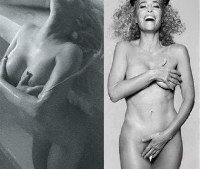Christina Aguilera And Gillian Andersons Irrelevant Old Lady Nudity