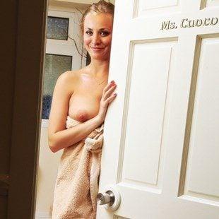 Kaley Cuocos Lewd Nude Behavior May Trigger Lawsuit