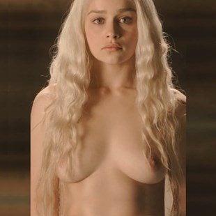 All Of Emilia Clarkes Game Of Thrones Nude Scenes Brightened