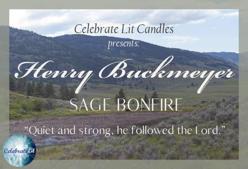 Henry Buckmeyer 10oz Candle