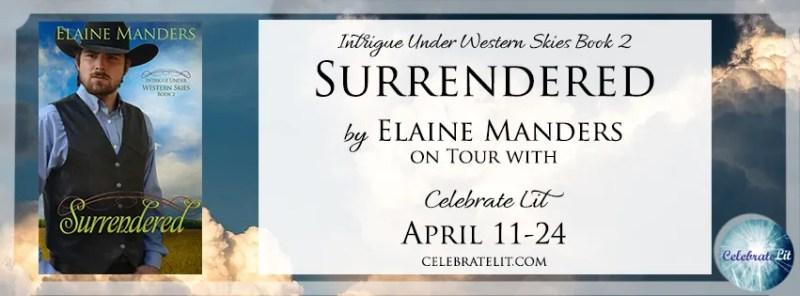 Surrendered banner-celebrate lit