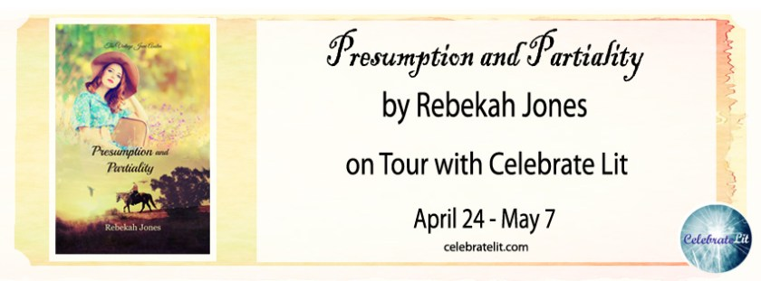 Hi friends, my couch visitor today is Rebekah Deedrick​ author of Presumption and Partiality who also has a GIVEAWAY for you - enjoy.