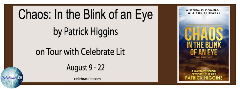 Margaret Kazmierczak interviews Patrick Higgins author of Chaos: In the Blink of an Eye
