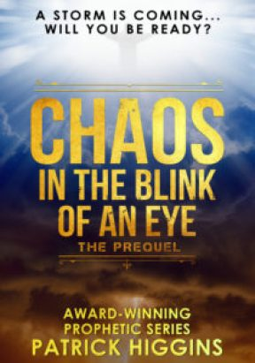 Margaret Kazmierczak reviews Chaos in the bling of an eye by Patrick Higgins.
