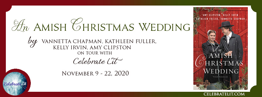 an amish christmas wedding banner