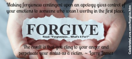 Forgiveness      What s it For