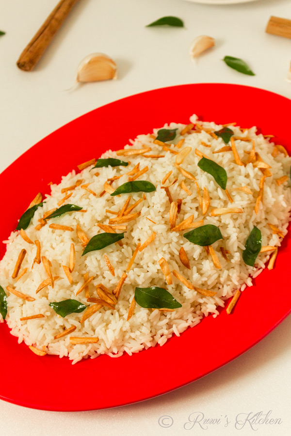 Aromatic Garlic Rice