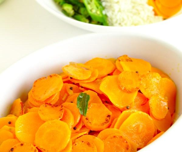 carrot stirfry