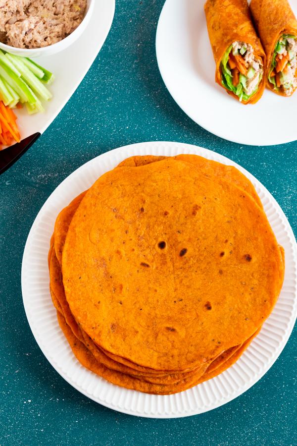 tomato flavored tortilla