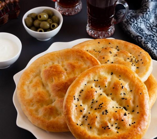 Turkish Flatbread  Recipe -  Pide