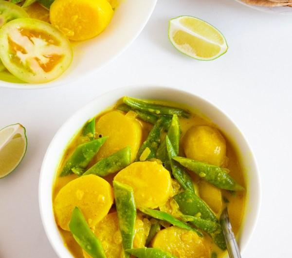 Sri Lankan Potato & Green Bean Curry