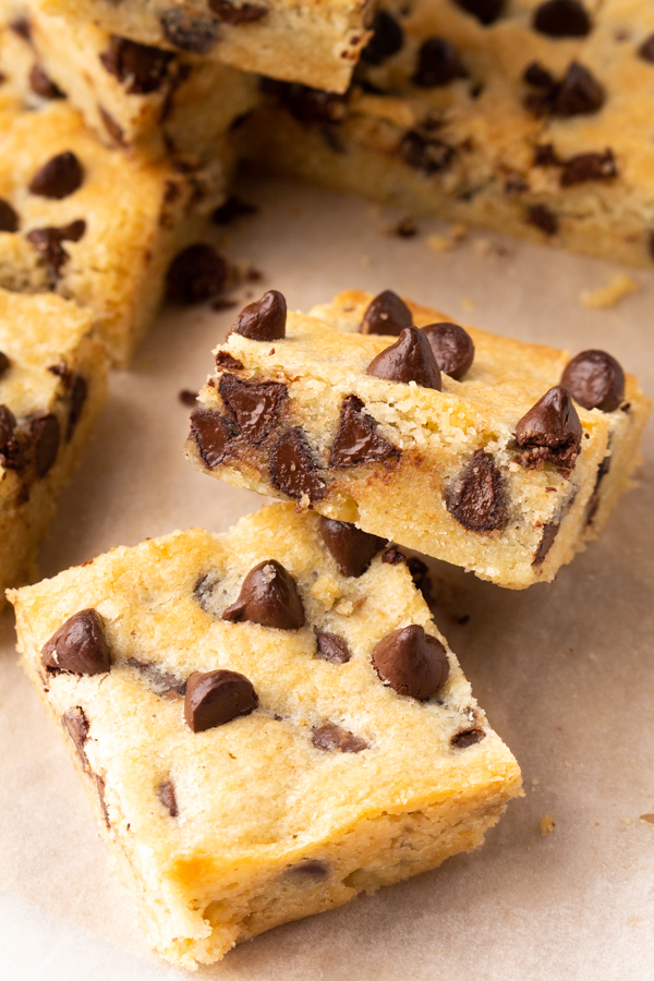 Easy Chocolate Chip Cookie Bar Recipe