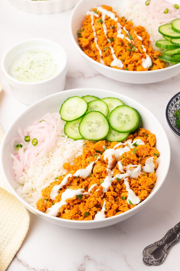 Tandoori Chicken Rice bowls