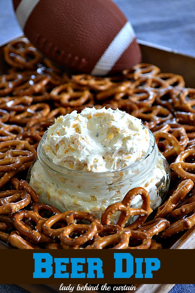 Beer Dip Recipe - Football Party Appetizer