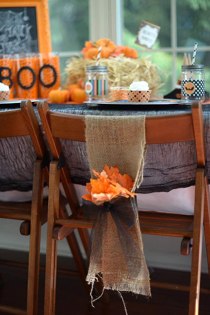 Not So Spooky Halloween Party Ideas - Tablescape Ideas