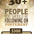 $300 Cash Giveaway by following 30+ of the best bloggers and pinners on the internet!