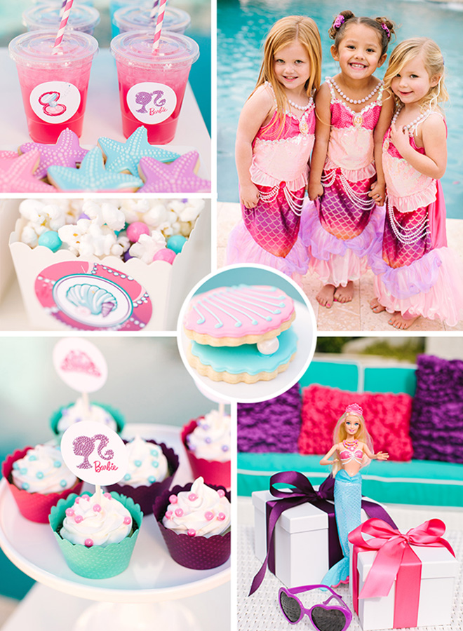 Barbie The Pearl Princess Mermaid Party Ideas