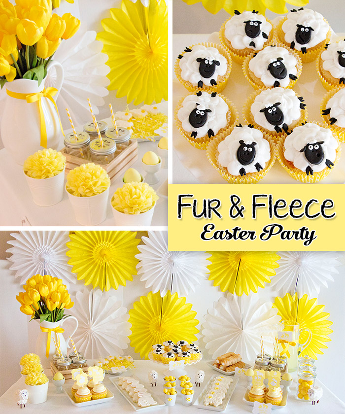 Fur and Fleece Easter Party