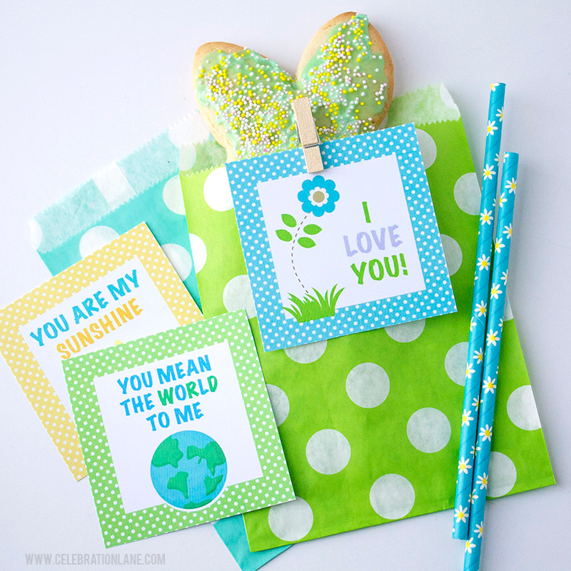 Spring Lunch Box Notes with Free Printable