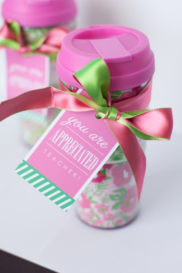 Teacher Appreciation Day Gift Ideas - Travel Mug Gift