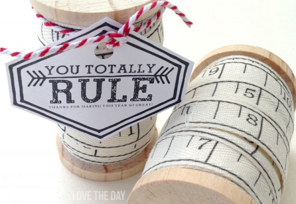 Teacher Appreciation Day Gift Ideas - You Totally Rule Tag