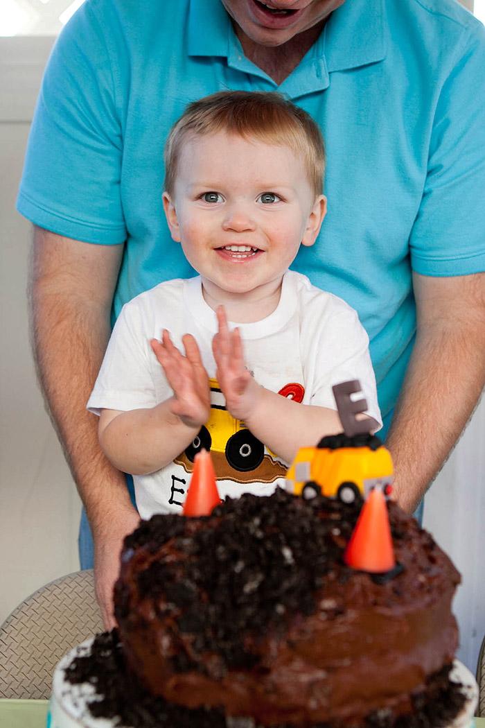 Ethan's 2nd Construction Birthday Party | www.celebrationlane.com