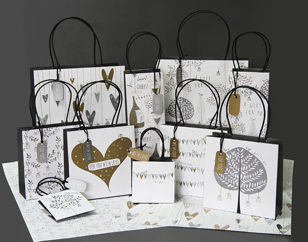 Belly-Button gift bags
