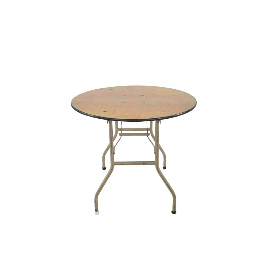 36 low round cocktail table