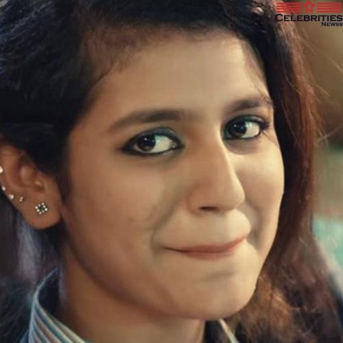 Bollywood actress Priya Prakash