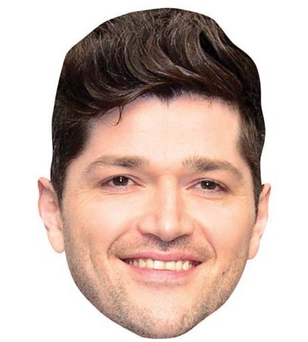 A Cardboard Celebrity Big Head of Danny O'Donoghue