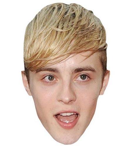 A Cardboard Celebrity Big Head of John Grimes