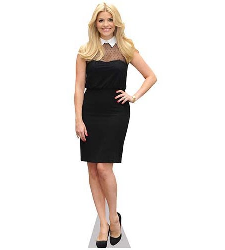 Holly Willoughby Cardboard Cutout